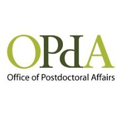 Visit website at: Office of Postdoctoral Affairs